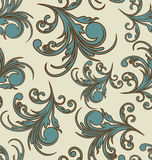 Vector floral background seamless Royalty Free Stock Image