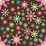 Vector floral background Seamless pattern Royalty Free Stock Photos