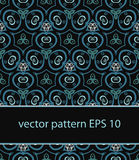 Vector floral background seamless pattern Stock Photography