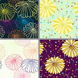 Vector floral background Stock Photos