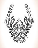 Vector floral background. Stock Photo
