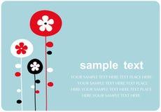 Vector floral backgrounds design stock illustration