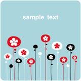 Vector floral backgrounds design vector illustration