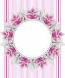 Vector floral banner Royalty Free Stock Photography