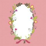 Vector floral border Royalty Free Stock Photos