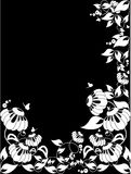 Vector floral border Royalty Free Stock Photography