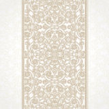 Vector floral border in Eastern style. Stock Image