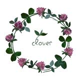 Vector floral card Royalty Free Stock Photography