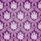 Vector Floral Damask Background Pattern Stock Images