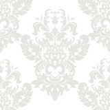 Vector floral damask ornament pattern Royalty Free Stock Photography
