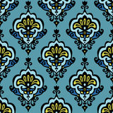 Vector floral damask Stock Image