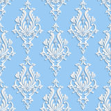 Vector Floral Damask Seamless Pattern Royalty Free Stock Images