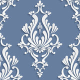 Vector Floral Damask Seamless Pattern Royalty Free Stock Image