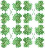 Vector floral de la acuarela Imagen de archivo libre de regalías