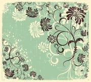 Vector floral decoration .Vintage Stock Images