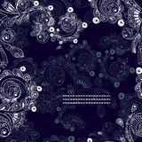 Vector floral decorative background. Royalty Free Stock Photos