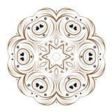 Vector floral design. Beautiful abstract vector floral design Stock Photos