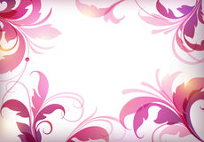 Vector floral elements Royalty Free Stock Photography