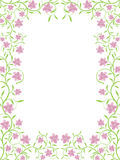Vector floral frame Royalty Free Stock Photography