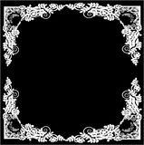 Vector floral frame Stock Photos
