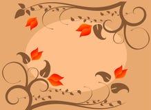 Vector floral frame Stock Photo