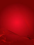 Vector of floral grunge on red background Royalty Free Stock Photos