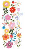 Vector floral illustration Stock Photos