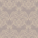 Vector floral lace pattern. In Oriental style. Ornamental lace pattern for wedding invitations, greeting cards, wallpaper, backgrounds, fabrics, textile Stock Image
