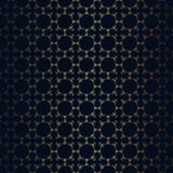 Vector floral line style black background Royalty Free Stock Photography