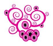 Vector floral motiv Stock Image