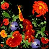 Vector floral ornament vector illustration