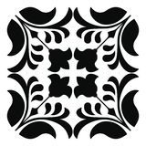 Vector floral ornament. Stock Photography