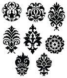 Vector floral ornament set Stock Photos