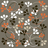 Vector floral pattern. Illustration of a  floral background useful as pattern.EPS file available Stock Images