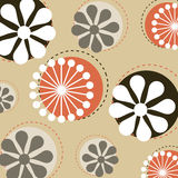 Vector floral pattern. Illustration of a  floral background useful as pattern.EPS file available Royalty Free Stock Photo