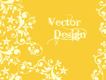 VECTOR FLORAL PATTERN Royalty Free Stock Images