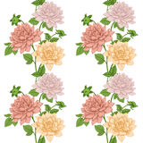 Vector floral pattern Royalty Free Stock Photo