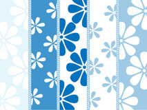 Vector floral pattern with a country style Royalty Free Stock Images