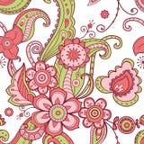 Vector floral pattern stock illustration