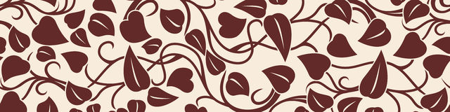 Vector floral pattern. Royalty Free Stock Images