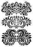Vector floral patterns Royalty Free Stock Photo