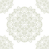 Vector floral round element Stock Images