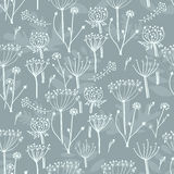 Vector floral seamless pattern Stock Photography