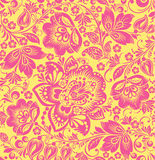 Vector Floral seamless pattern. Royalty Free Stock Image
