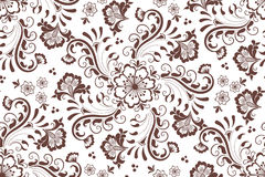 Vector floral seamless pattern element in Arabian style. Arabesque pattern. Eastern ethnic ornament. Royalty Free Stock Photos