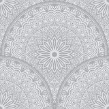 Vector floral seamless pattern element in Arabian style. Arabesque pattern. Eastern ethnic ornament. Royalty Free Stock Image