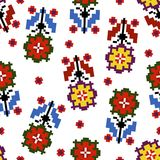 Floral vector background. Vector floral seamless pattern illustration Stock Photos