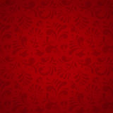 Vector Floral Seamless Pattern, Subtle Background Stock Photos