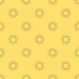 Vector floral seamless pattern Stock Images