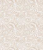 Vector - Floral seamless royal wallpaper Stock Image